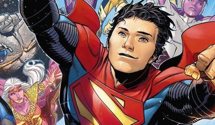 Legion Of Superheroes reunites the Super Sons