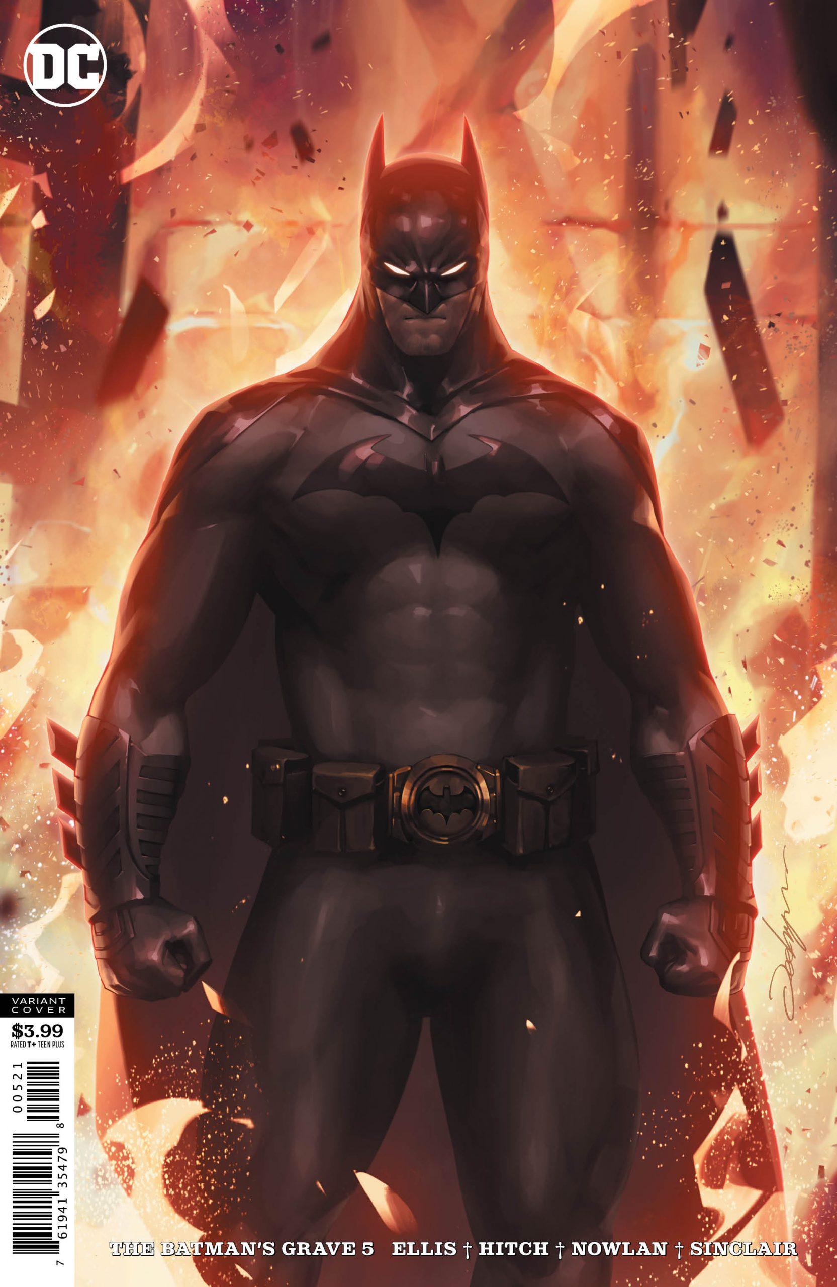 The Batman's Grave #5 Alternate Cover