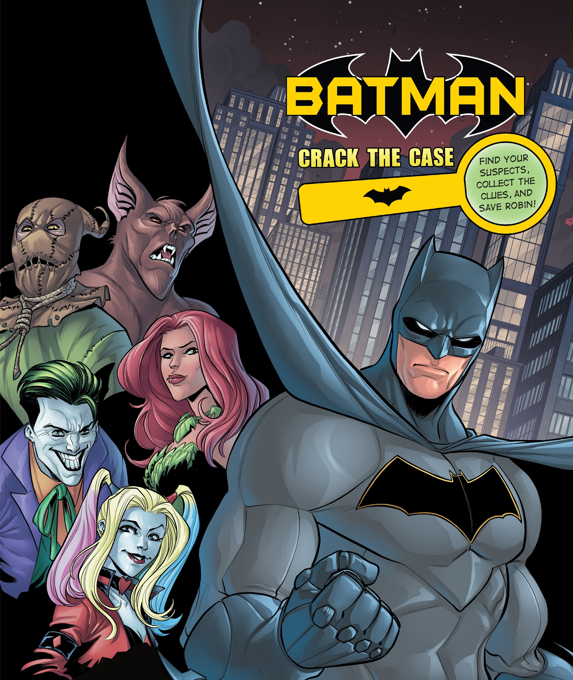 Batman: Crack The Case Cover