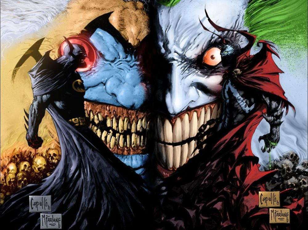 Batman/Spawn Joker/Clown