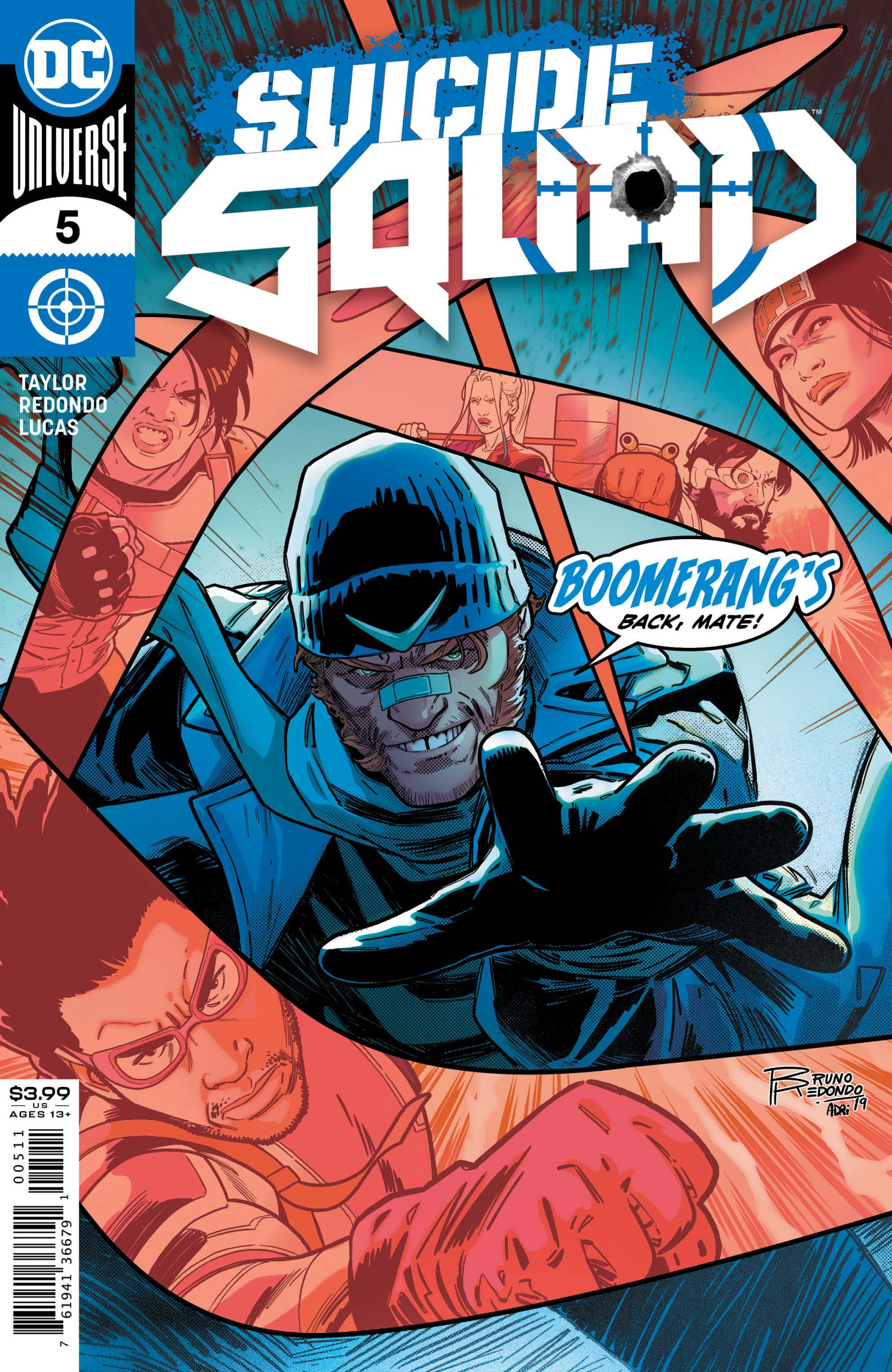Suicide Squad #5 Cover