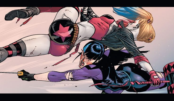 Punchline Vs. Harley Quinn Featured Image