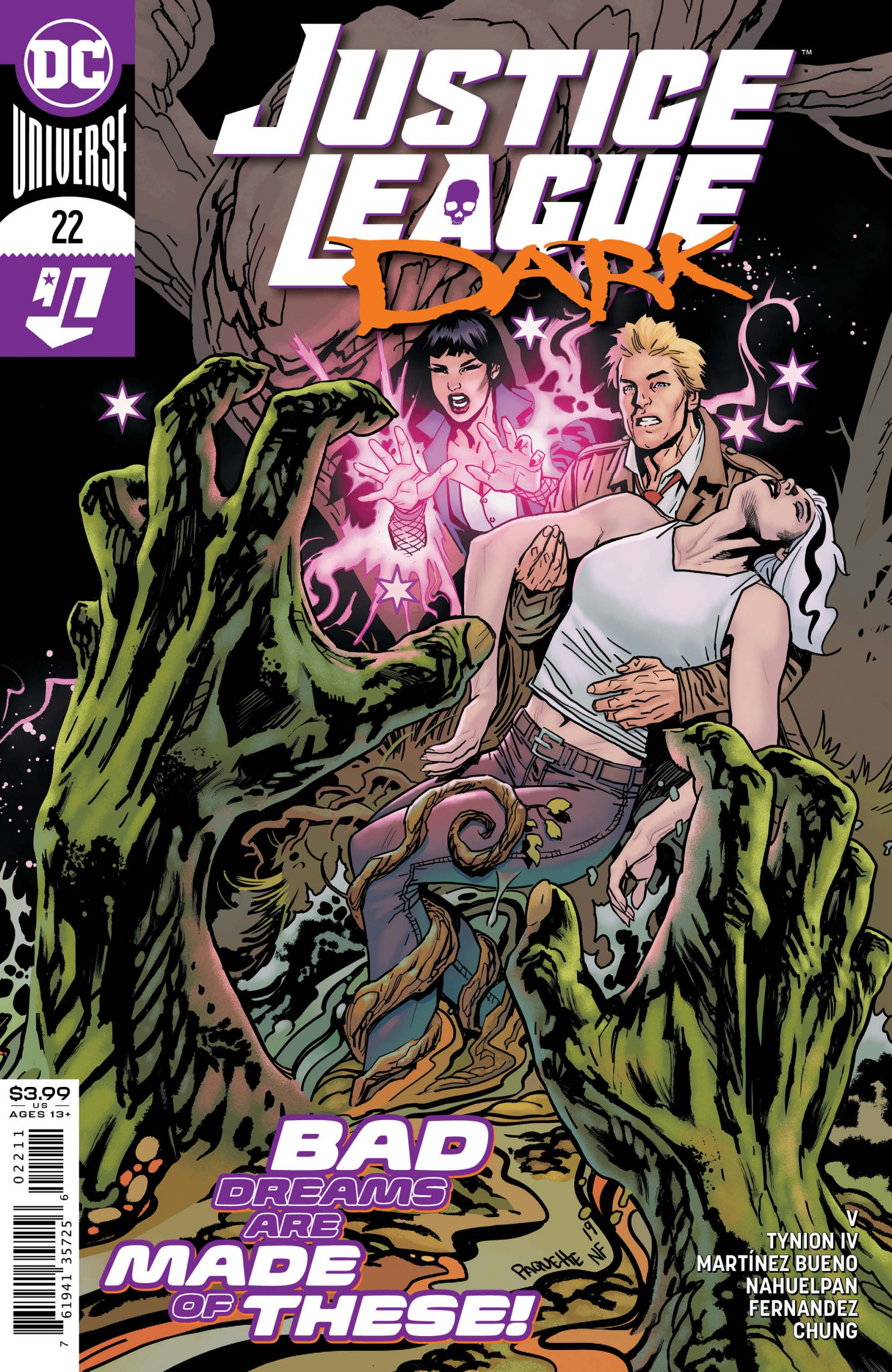 Justice League Dark #22 Cover