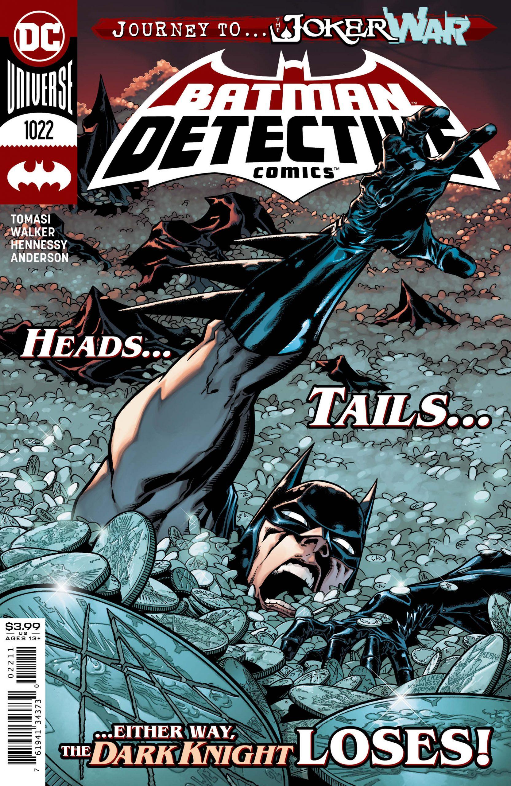 Detective Comics #1022 Cover