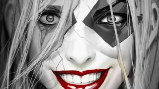 Harley Quinn: Black + White + Red Featured Image