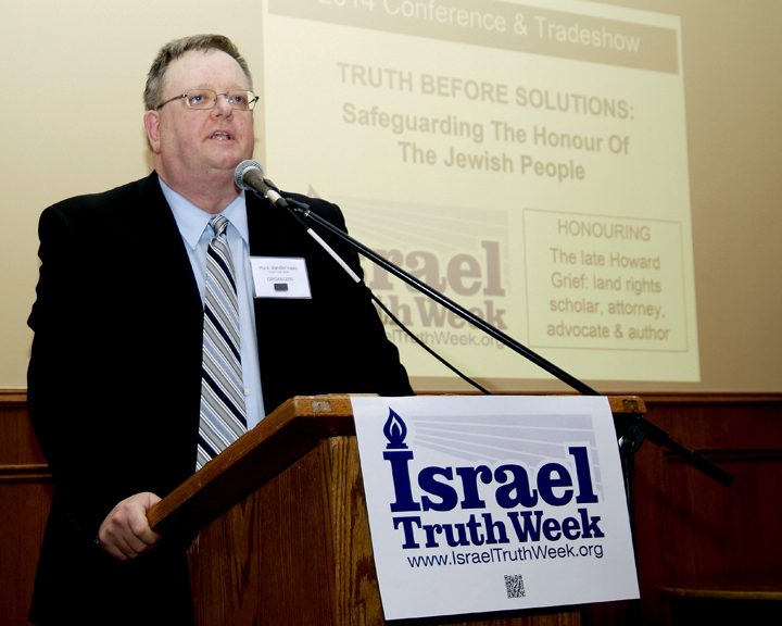 Give to support Mark Vandermaas & Israel Truth Week