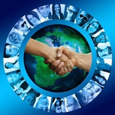 giving hands across the globe