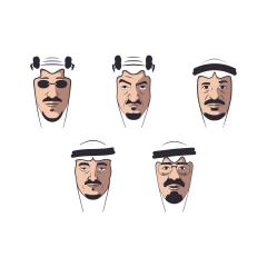 أيقونات ملوك المملكة العربية السعودية