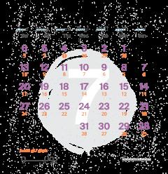 تقويم شهر يوليو ٢٠١٩