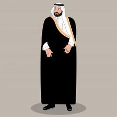 رسمة فيكتور الأمير محمد بن سلمان بن عبدالعزيز آل سعود
