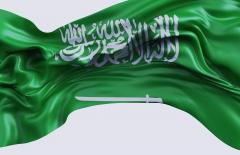 علم المملكة العربية السعودية 3D