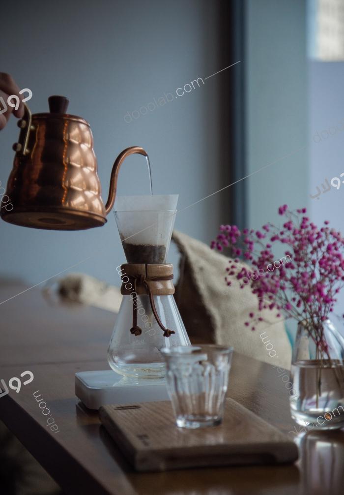 قهوة مقطرة