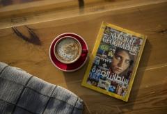 مجلة وكوب قهوة