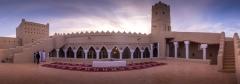 مسجد طين أثري بانوراما