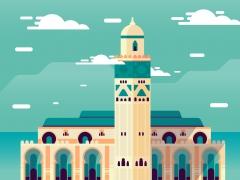مسجد عتيق, مسجد الحسن تاني, الدار البيضاء