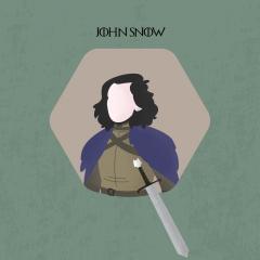 John Snow - game of thrones - جون سنو - لعبة العروش