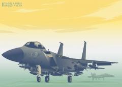 air craft f15 sa طائرة حربية سعودية