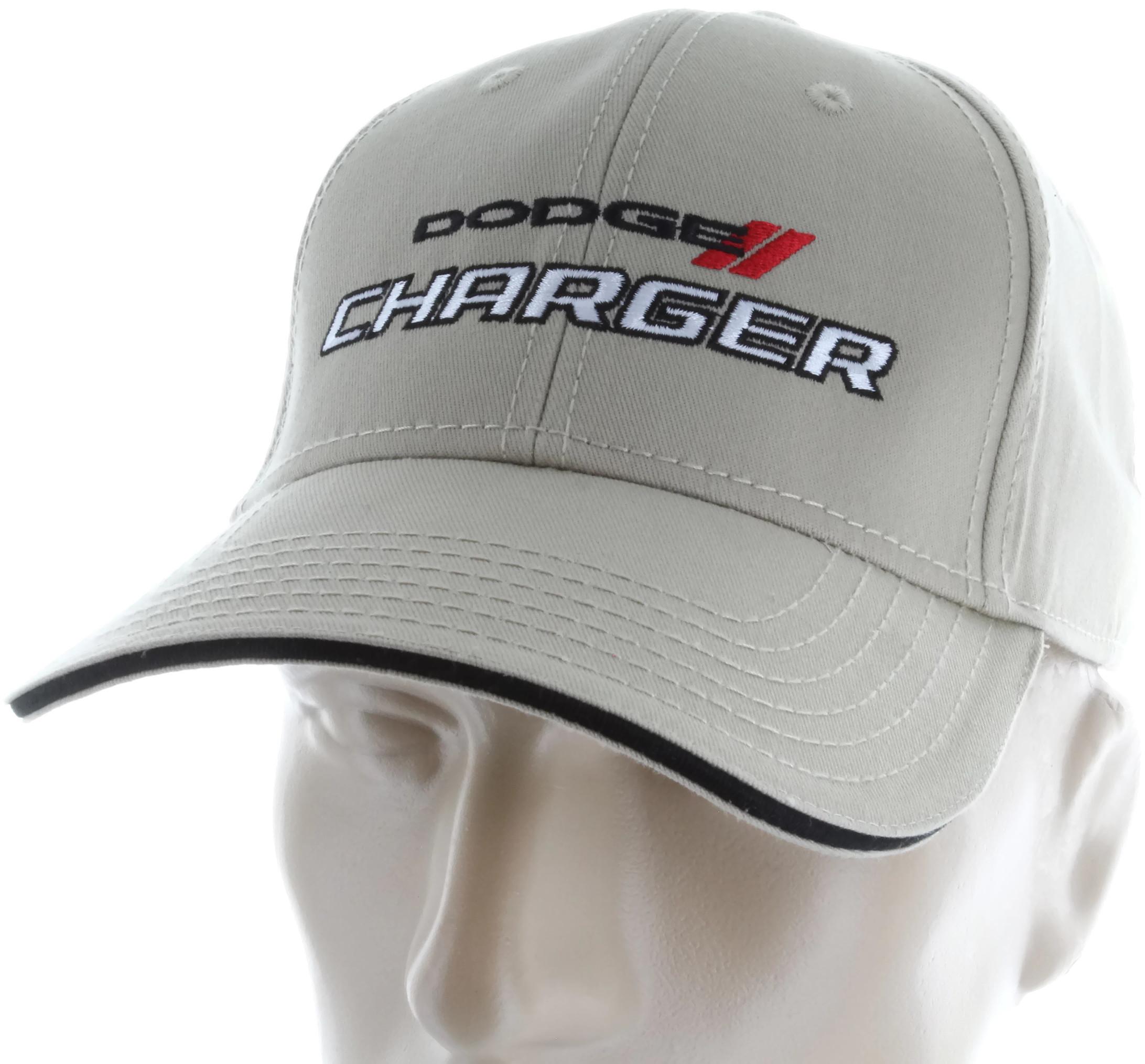 c3bcb178a3f Details about Dodge Charger RT Tan Baseball Cap Trucker Hat Snapback SRT  Mopar