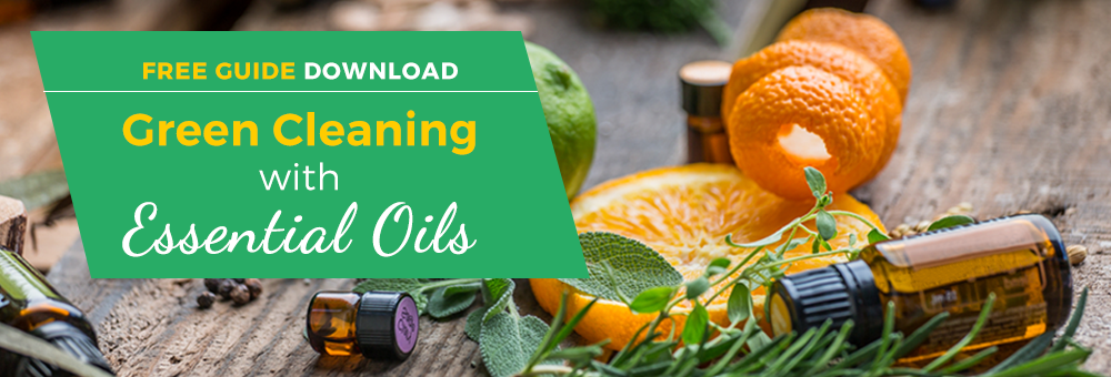 Create your own non-toxic green cleaning supplies with essential oils