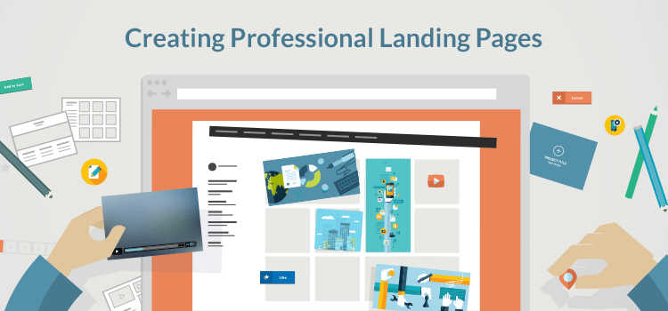 creating professional landing pages