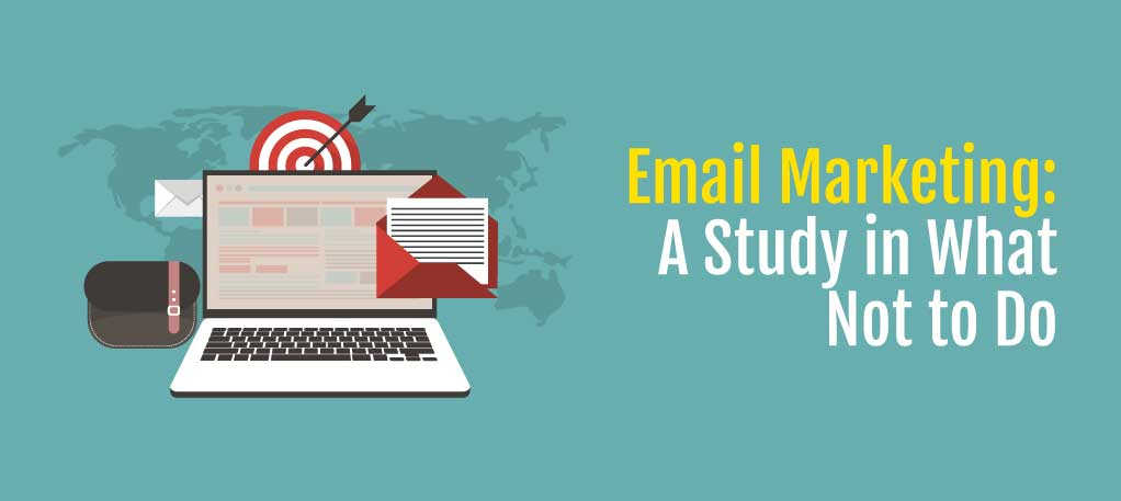 email marketing: a study in what not to do