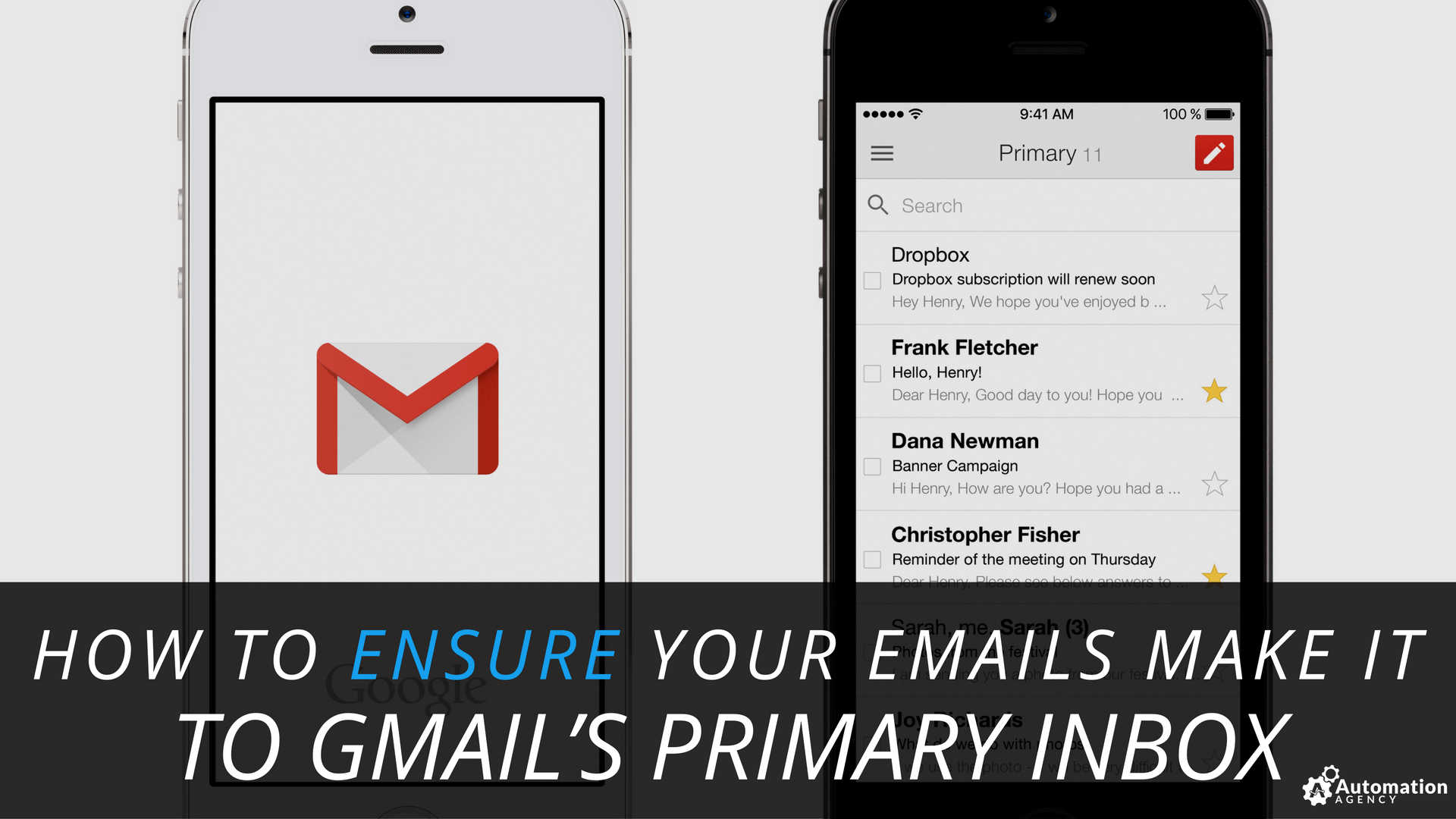 how to ensure your emails make it to gmail's primary inbox