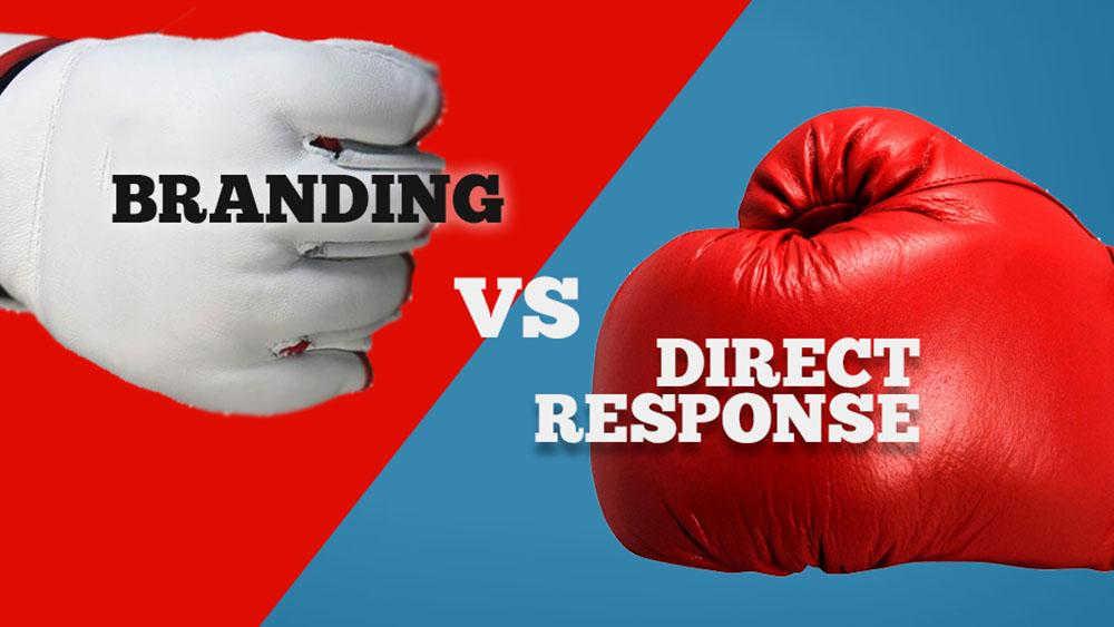 branding vs. direct response