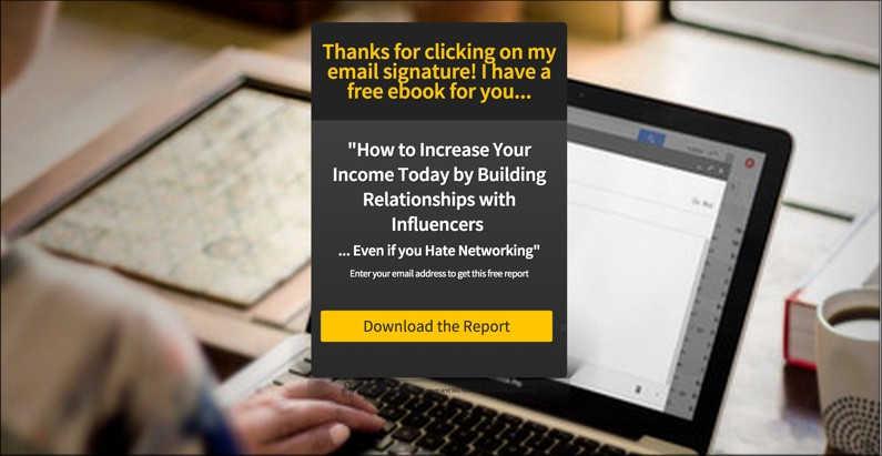 free ebook optin bribe