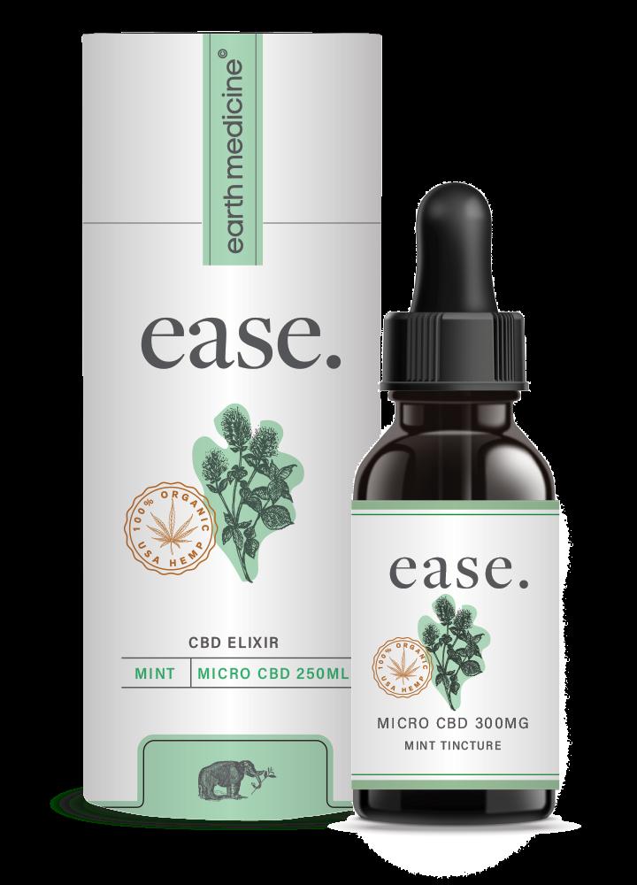 ease - Mint MicroCBD Tincture