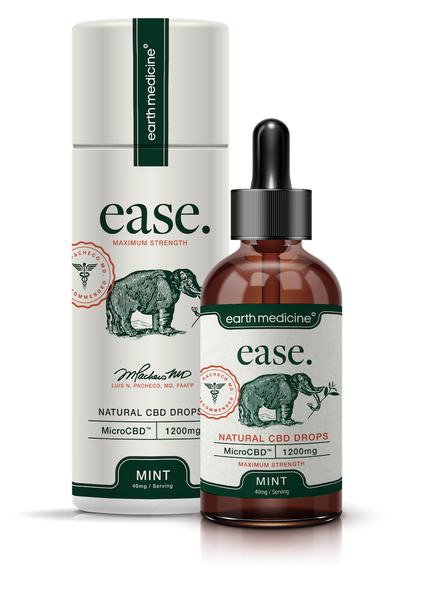 ease - Mint MicroCBD Tincture