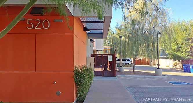 Skye 15 Tempe Arizona exterior view of entrance