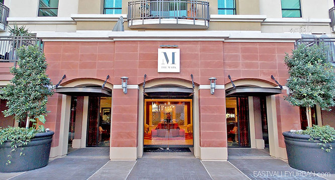 Lobby entrance to The Mark in Scottsdale