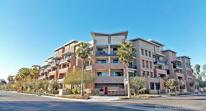 Exterior view of Ten Wine Lofts in Scottsdale