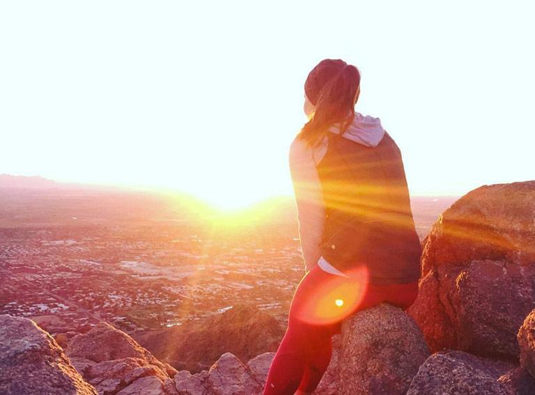 Camelback Mountain Sunset Scottsdale, Arizona