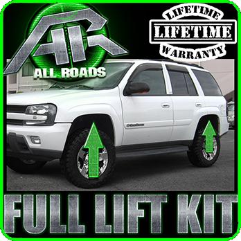 3 Fr 1 Rear Ext Full Leveling Lift Kit 2002 2009 Chevy