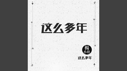 Zhe Me Duo Nian 这么多年 So Many Years Lyrics 歌詞 With Pinyin By Yang Xiao Zhuang 杨小壮
