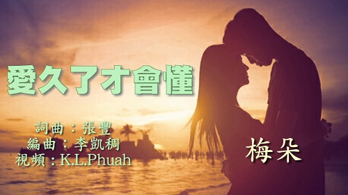 Ai Jiu Le Cai Hui Dong 爱久了才会懂 Love For A Long Time To Understand Lyrics 歌詞 With Pinyin By Mei Duo 梅朵