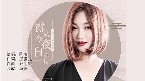 Lu Cong Jin Ye Bai 露从今夜白 Dew Is White From The Night Lyrics 歌詞 With Pinyin