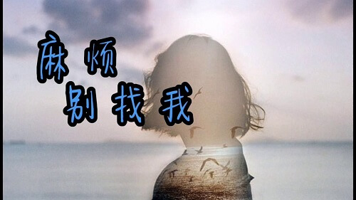Ma Fan Bie Zhao Wo 麻烦别找我 Don't Bother Me Lyrics 歌詞 With Pinyin