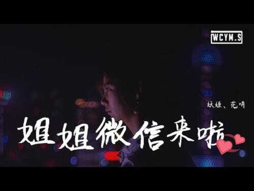 Jie Jie Wei Xin Lai Le 姐姐微信来了 Sister WeChat Is Here Lyrics 歌詞 With Pinyin