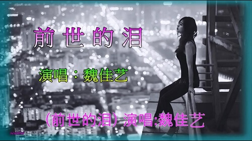 Qian Shi De Lei 前世的泪 Past The Tears Lyrics 歌詞 With Pinyin