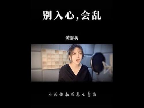Bie Ru Xin Hui Luan 别入心会乱 Don't Get Confused Lyrics 歌詞 With Pinyin