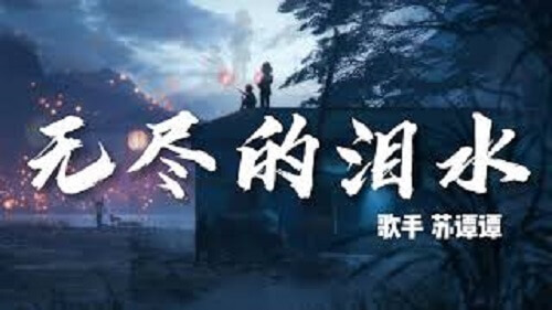 Wu Jin De Lei Shui 无尽的泪水 Endless Tears Lyrics 歌詞 With Pinyin