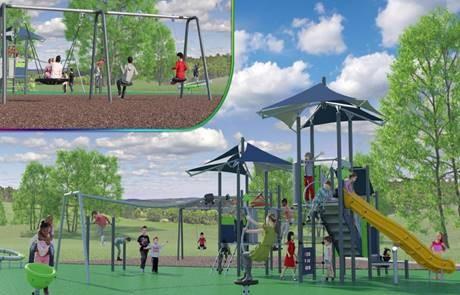 Kingswood park rendering