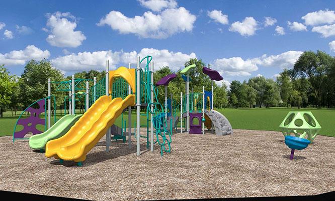 Ute trail playground option 1