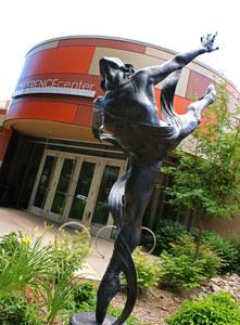 Lincoln center image   statue