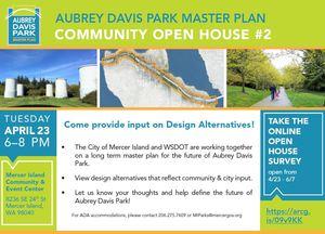 Open house  2 flyer