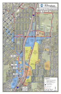 This is a thumbnail graphic representing a detailed map of the study area. Click the image to open a pdf of a detailed map of the study area.