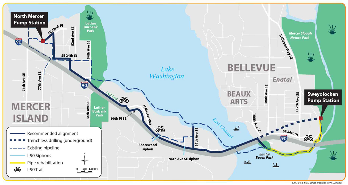 King county sewer map