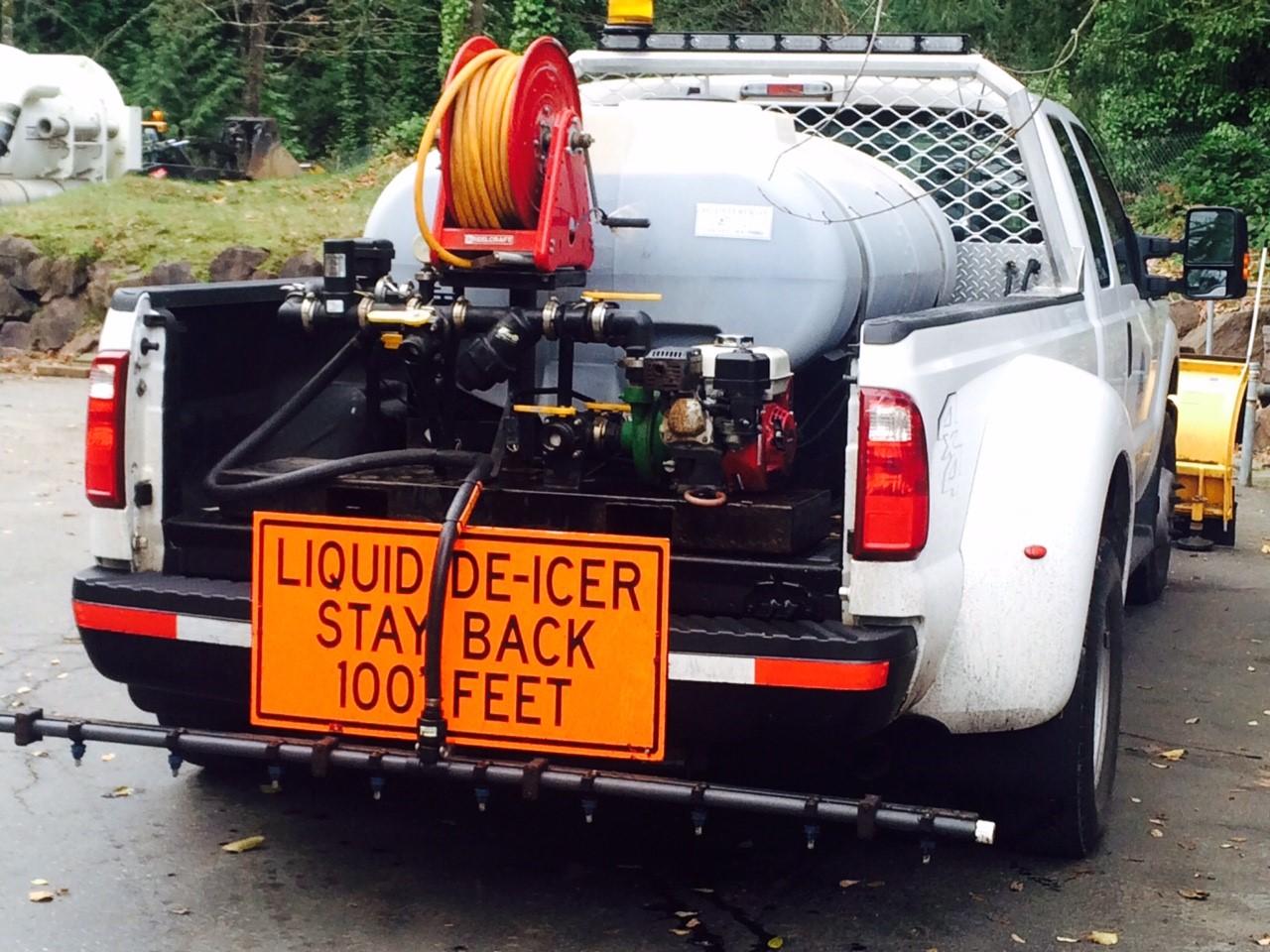 Deicer Truck